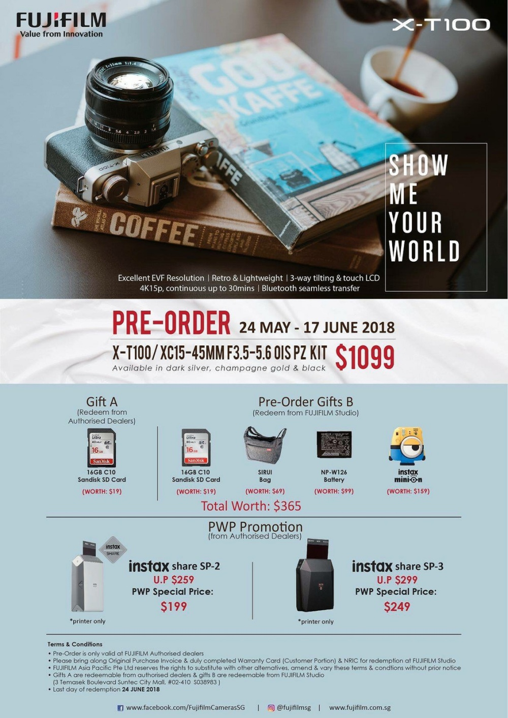 One Of The Most Informative Review Fujifilm X T100 A5 Xa5 Kit Lens Xc 15 45mm Dark Silver Sd 16gb 41597078034 9fc29ee5db H